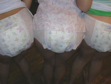 Triple diaper obsession
